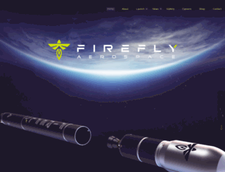 fireflyspace.com screenshot