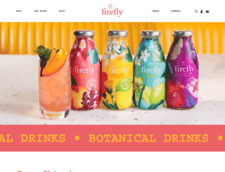 fireflytonics.com screenshot