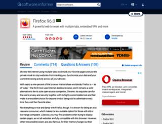 firefox.software.informer.com screenshot