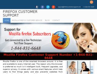 firefoxcustomersupport.com screenshot