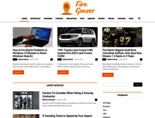 firegeezer.com screenshot