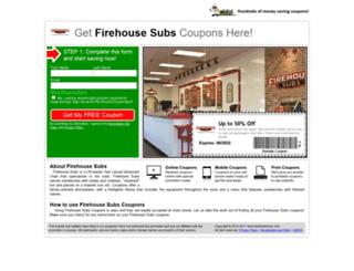 firehousesubs.fastfoodsaver.com screenshot