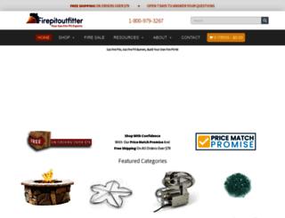firepitoutfitter.com screenshot