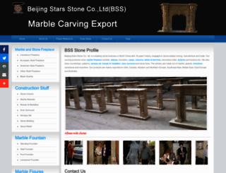fireplace-carving.com screenshot