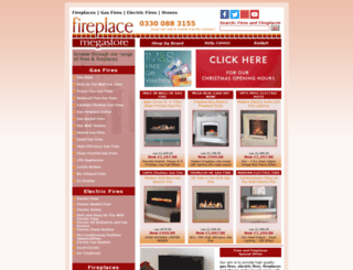 fireplacemegastore.co.uk screenshot
