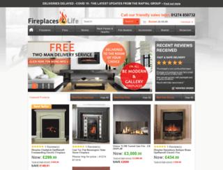 fireplaces4life.co.uk screenshot