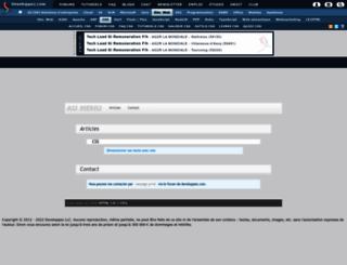 fireprawn.developpez.com screenshot