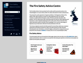 firesafe.org.uk screenshot