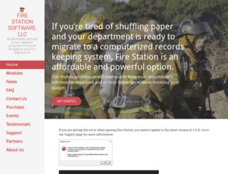 firestationsoftware.com screenshot