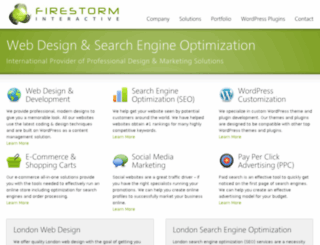 firestorminteractive.com screenshot