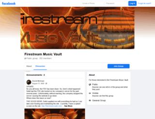 firestreamvault.com screenshot
