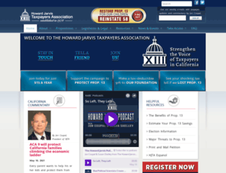 firetaxprotest.org screenshot