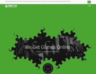 fireteam.net screenshot