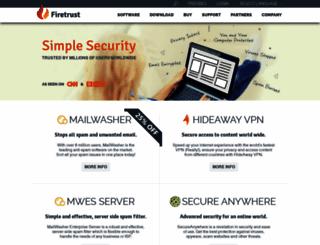 firetrust.com screenshot