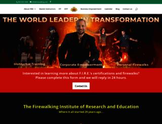 firewalking.com screenshot