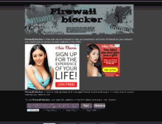 firewallblocker.net screenshot