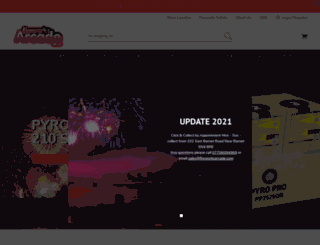 fireworksarcade.co.uk screenshot