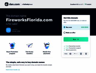 fireworksflorida.com screenshot