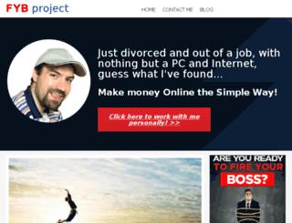 fireyourbossproject.org screenshot