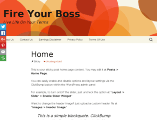 fireyrboss.com screenshot