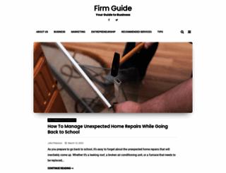 firm-guide.com screenshot