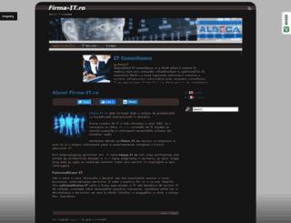 firma-it.ro screenshot