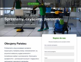 firma-sprzatajaca.com.pl screenshot