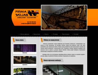 firma-wojas.pl screenshot