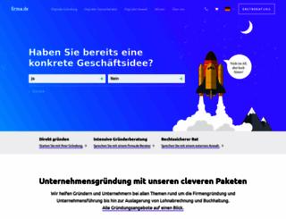 firma.de screenshot