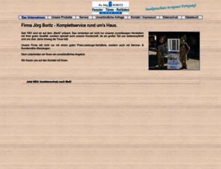 firmaboritz.de screenshot