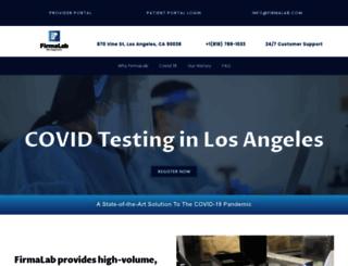 firmalab.com screenshot