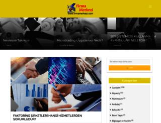 firmamerkezi.com screenshot