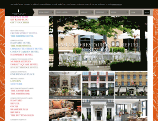 firmdale.com screenshot