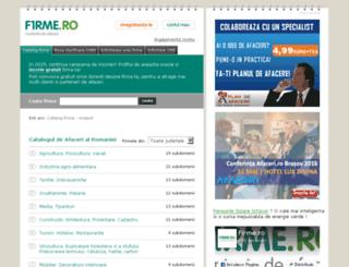 firme.ro screenshot