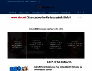 firme365.ro screenshot