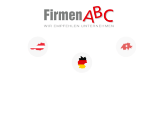 firmenabc.de screenshot