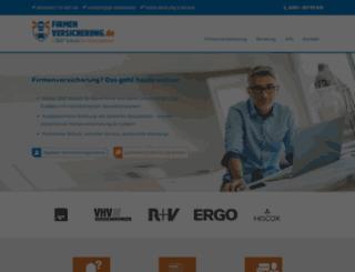 firmenversicherung.de screenshot