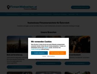 firmenwebseiten.at screenshot