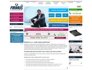 firmus.cz screenshot