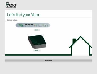 firmware.getvera.com screenshot