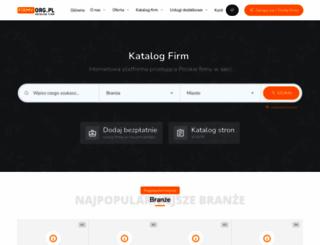firmy.org.pl screenshot