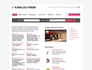 firmy.vybirej.cz screenshot