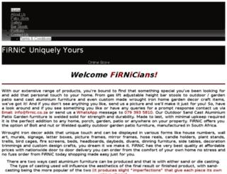firnic.co.za screenshot