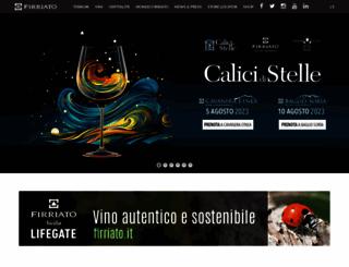 firriato.it screenshot