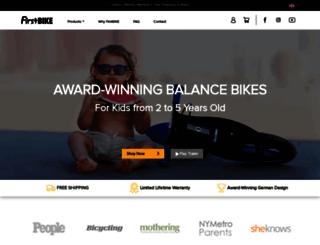 first-bike.uk screenshot