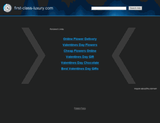 first-class-luxury.com screenshot