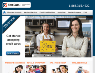 first-data.com screenshot