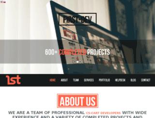 first-dev.com screenshot