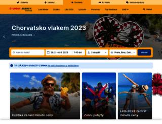 first-minute.dovolena.cz screenshot