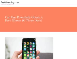 first4farming.com screenshot